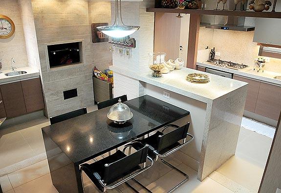 Construindo Minha Casa Clean Cozinhas Gourmet com Churrasqueiras Integradas! # Ilha Cozinha Em Alvenaria