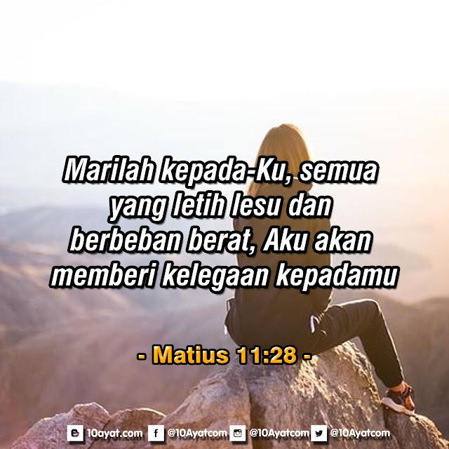 Matius 11:28