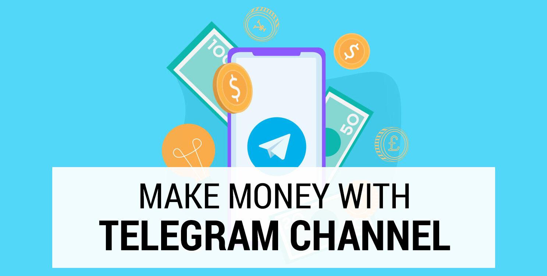 5 ways to earn money from telegram!