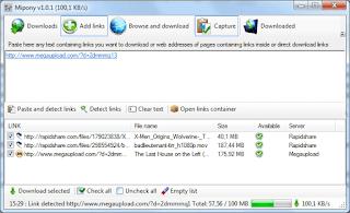 برنامج, لتحميل, الملفات, من, مواقع, الاستضافات, Mipony, اخر, اصدار