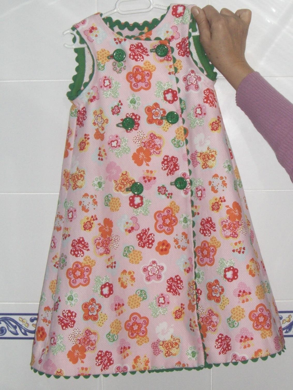 NIGHTERS: Vestido piqué estampado con sandunga