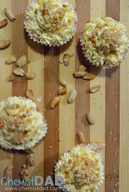 Lemon Square Inipit Sans Rival Cupcakes