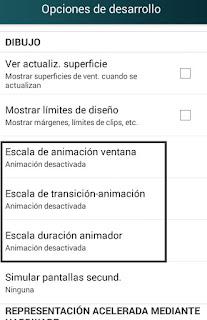 como acelerar las animaciones en android paso a paso