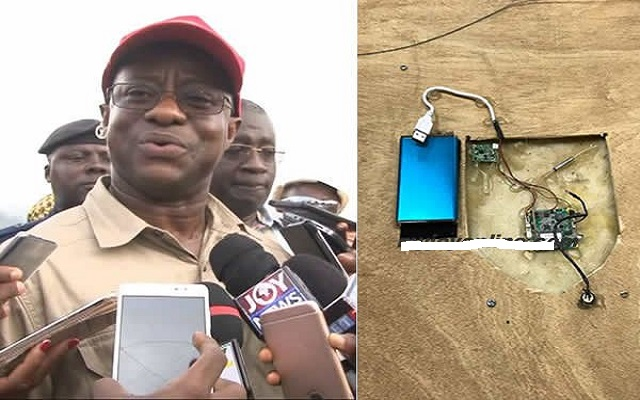I can't vouch for Inusah's claims bugging device is dead – Amewu