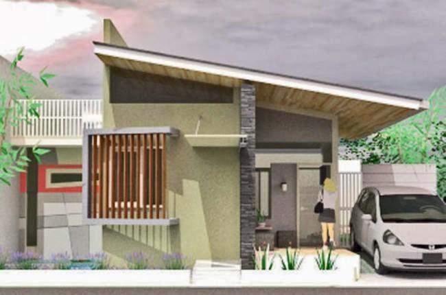 model rumah atap miring 6