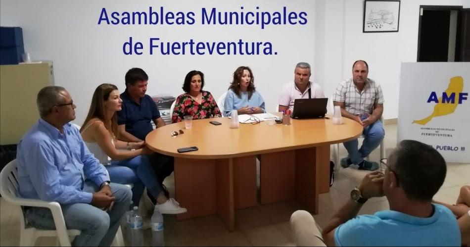 Fuerteventura.- Militancia de AMF en asamblea abierta apoya unánimemente la postura de sus compañeros de Pájara en respaldo a la moción de censura.