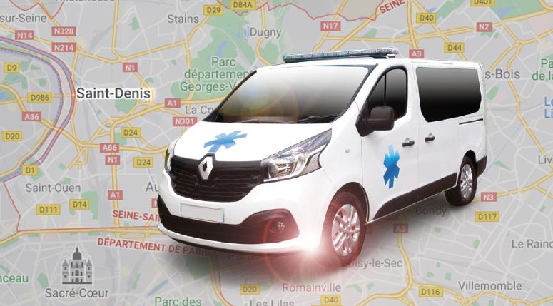 Appelez votre ambulance en Seine saint denis pour tous vos transports sanitaires et d'urgence