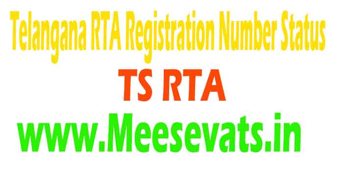 Telangana transport registration number-9572