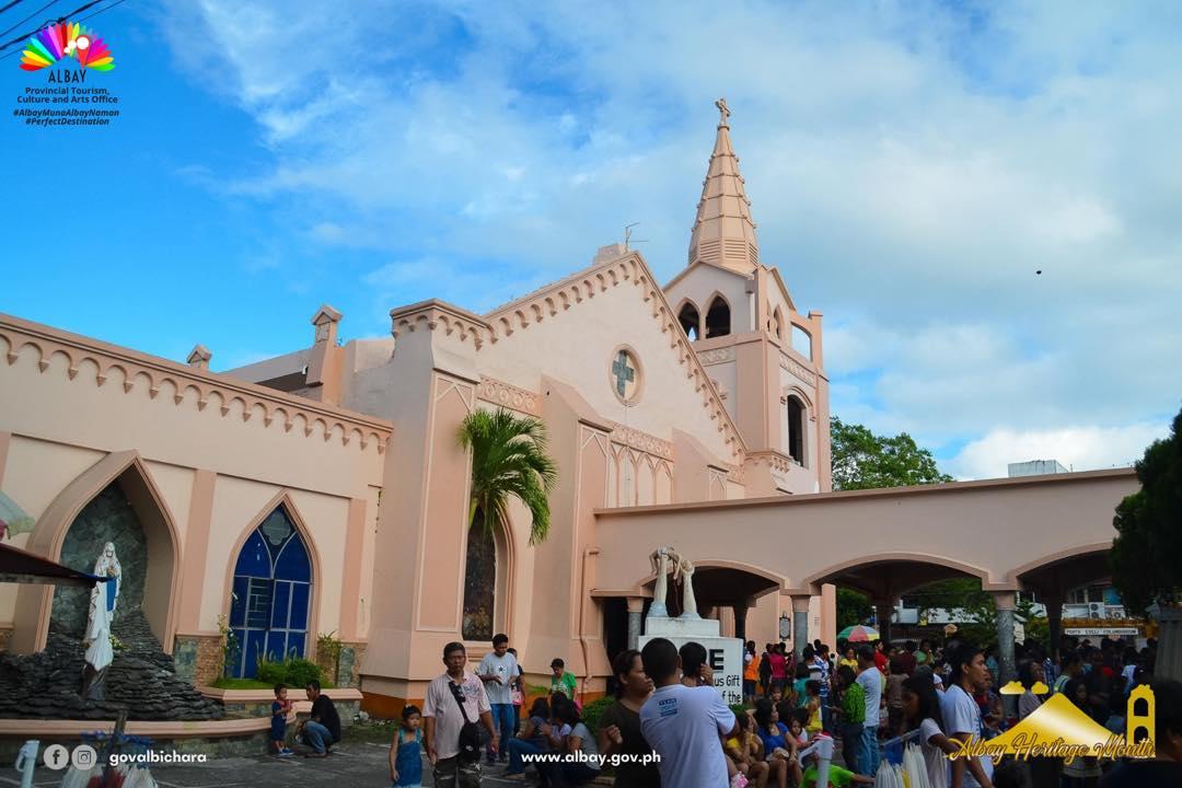 Saint Raphael the Archangel Parish Church is a Roman Catholic Church at Legazpi City, Albay