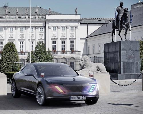 Tinuku Varsovia Motor Company car concept luxury and stylish exterior of Poland