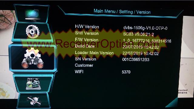 OPENBOX GENIUS HD RECEIVER 1506G SCB3 MENU TYPE TEN SPORTS NEW SOFTWARE