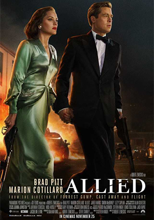Allied 2016 Full English Movie Download BRRip 720p