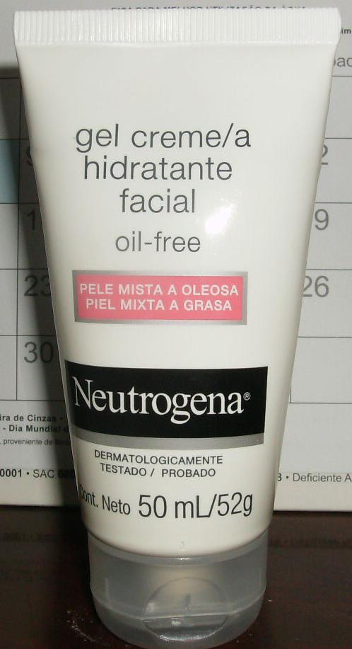 crema hidratante oil free neutrogena