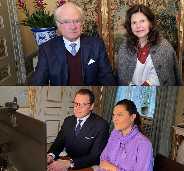 Swedish Royals attended a Meeting with the Swedish Pharmaceutical Industry