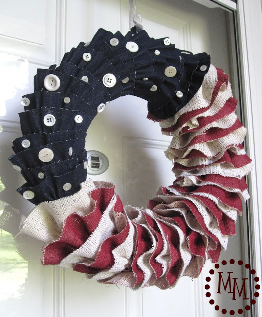 burlap-denim-ruffled-patriotic-wreath-diy