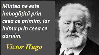 Maxima zilei: 26 februarie - Victor Hugo