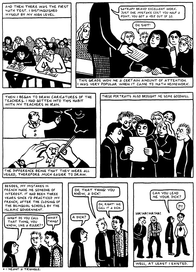 Read Chapter 2 - Tyrol, page 11, from Marjane Satrapi's Persepolis 2 - The Story of a Return