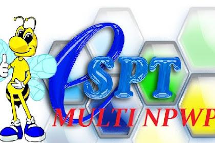 Cara Membuat Satu eSPT Untuk Banyak NPWP   Multi NPWP   Multi Database