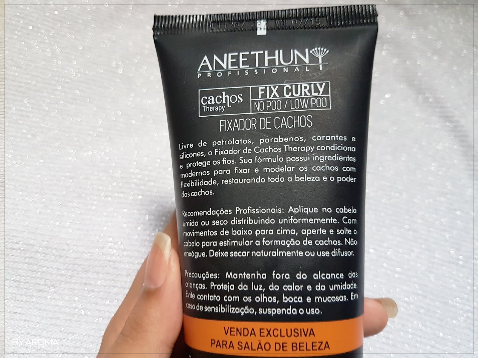 Fix Curly Fixador de Cachos Aneethun Cachos therapy