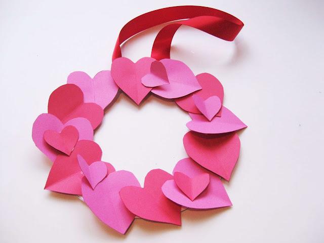 Dia dos namorados decoração com corações