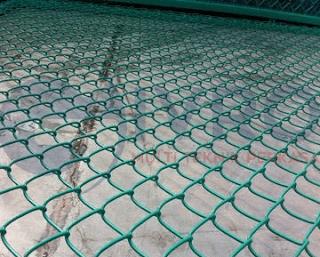 Kawat Harmonika PVC Hijau