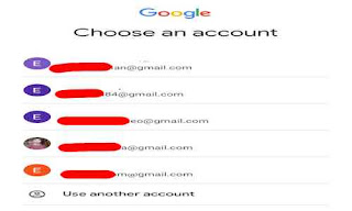 List email google anda