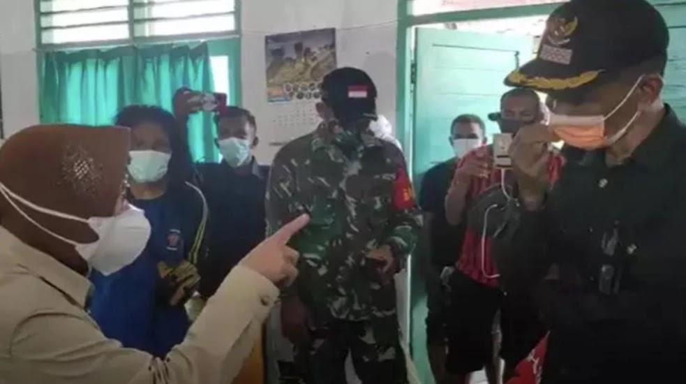 Alamak! Gegara Hal Ini, Mensos Risma Marah-Marah saat Tinjau Korban Banjir Bandang di Flores Timur NTT