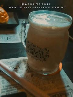 Imagem hamburgueria/restaurante harry potter cerveja amanteigada