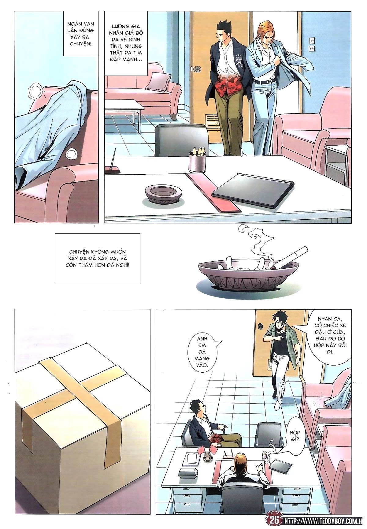 Người Trong Giang Hồ chapter 1805: thiên đao vạn trảm trang 25