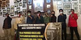 Tolak KAMI, Mahasiswa Arek Suroboyo Kecam Pernyataan Kontroversial Gatot Nurmantyo
