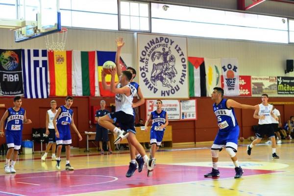 3ο Διεθνές Κύπελλο U14 : Δεύτερη νίκη για την Ελλάδα