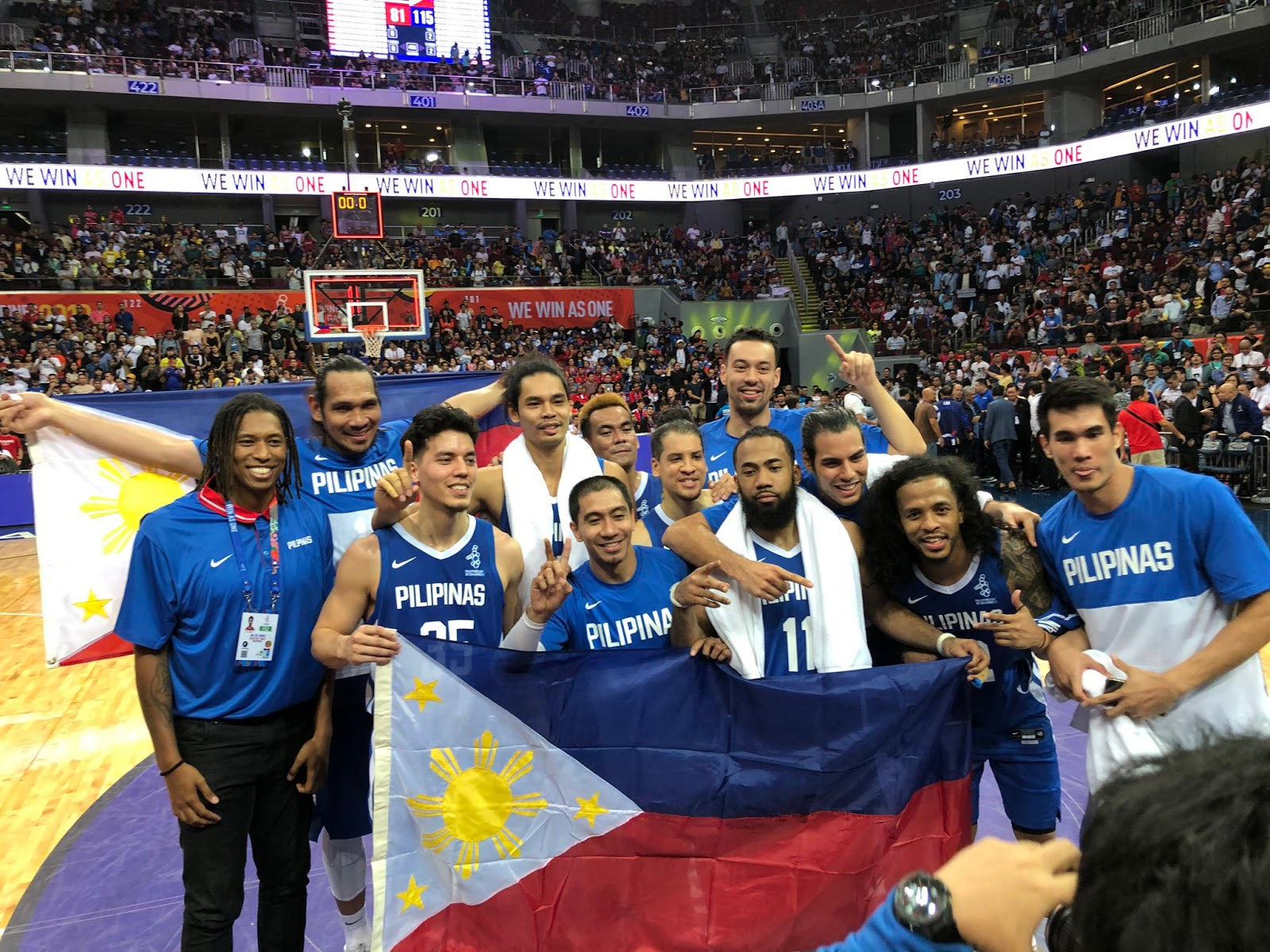 Gilas Pilipinas dominates Thailand, captures another gold in SEA Games Men's basketball