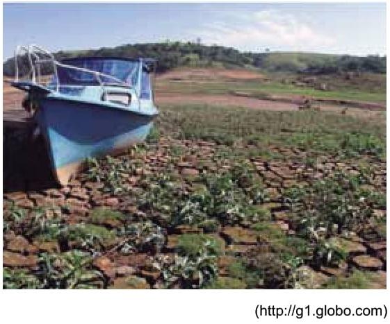 O problema de escassez de água em São Paulo
