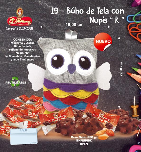 Buho de Tela con Yoko's El Patriarca 400 g - Comercial H. Martín sa