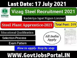 Vizag Steel Plant Jobs