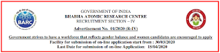 BARC Mumbai Medical / Scientific Officer, Technical Officer Recruitment 2020- Previous Papers
