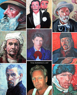 Portrait painting by Boulder contemporary artist Tom Roderick