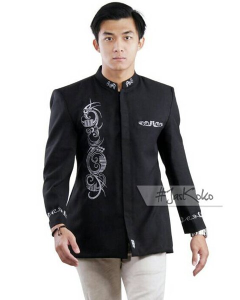 Model Semi Jas Batik Pria
