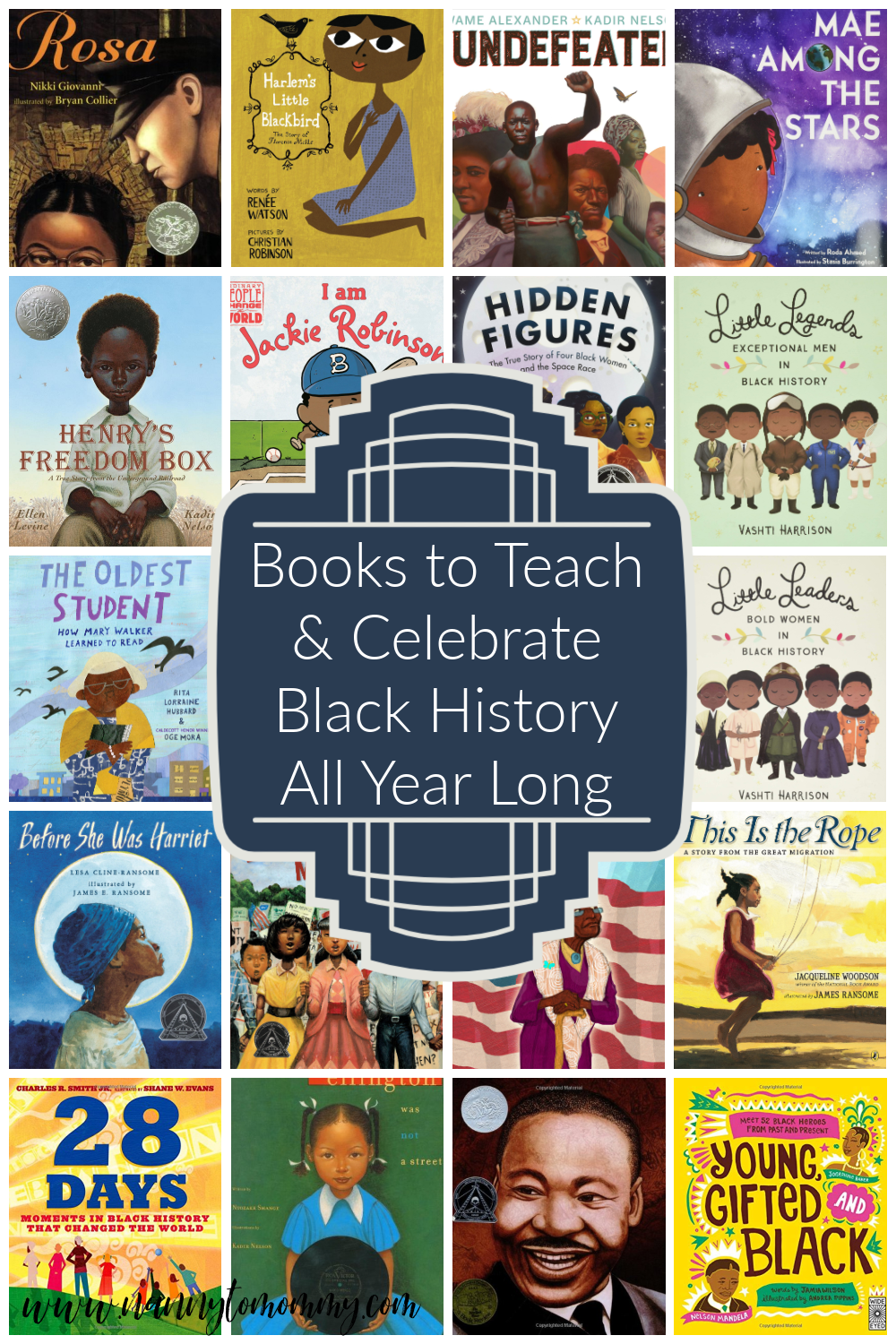 Books to Teach & Celebrate Black History All Year Long