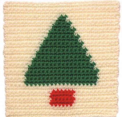 Patrón #1132: Granny a Crochet