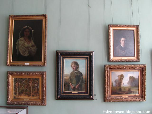 Художественный музей в Иркутске - картины Репина, Шишкина, Саврасова и Крамского
