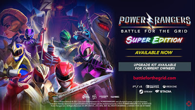 Power Rangers: Battle For The Grid - Super Edition Trailer Released