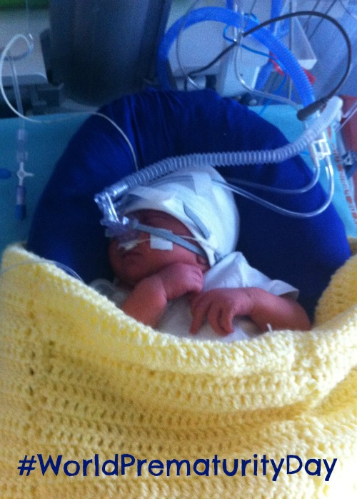 Leo in the NICU, #WorldPrematurityDay