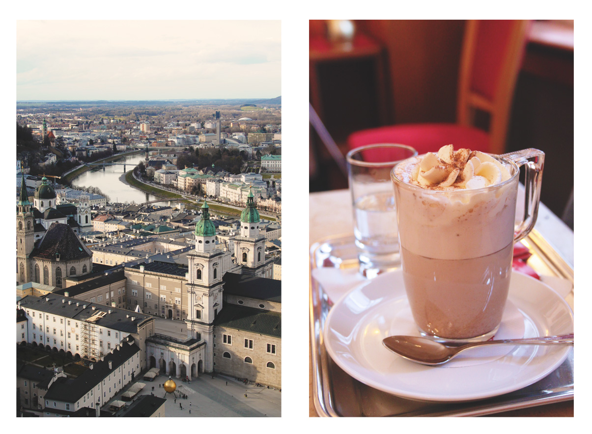 Salzberg City View and Hot Chocolate