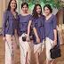 48+ Model Rok Span Batik Panjang Pendek Modern 2018