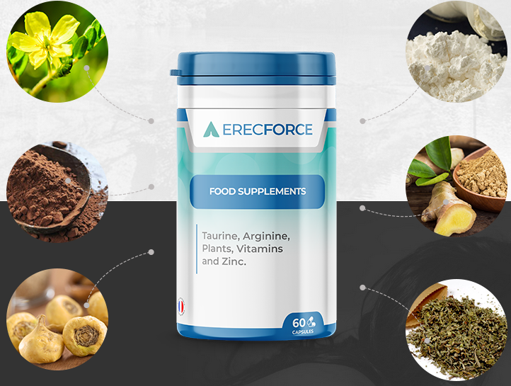 ErecForce allows a thorough action on your body