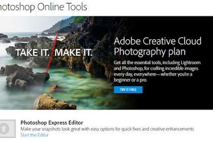Photoshop Express Editor Solusi Mudah Untuk Editing Foto Online Gratis