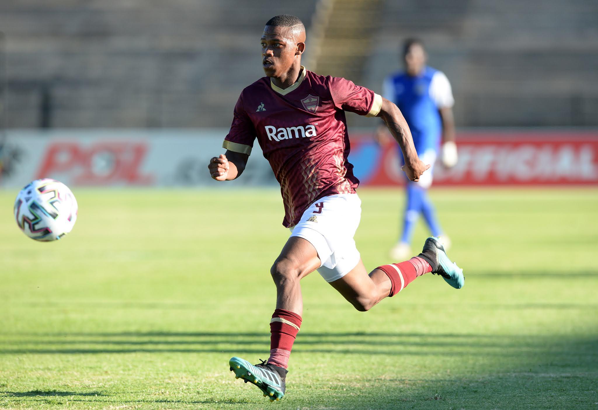 Stellenbosch FC's fearless winger Ashley Du Preez