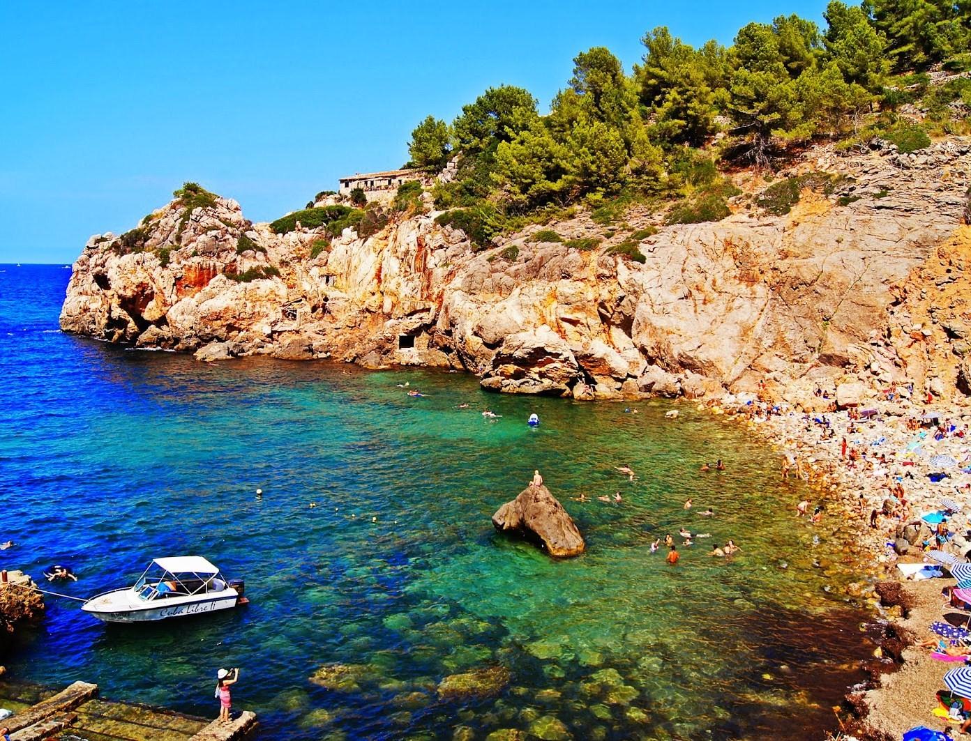 Majorque Photos à petits paradis: cala deia (majorque)