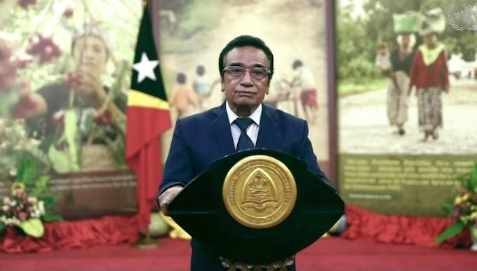 تيمور الشرقية تدعو إلى الإسراع في بعث مفاوضات بين جبهة البوليساريو والمغرب من أجل إيجاد حل يضمن حق تقرير مصير الشعب الصحراوي.